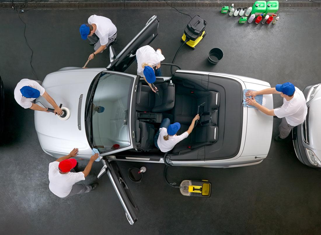 Nettoyage écologique voiture - lausanne